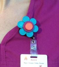 Nurse Badge Holder - Nurse Badge Reel - Retractable Badge ...