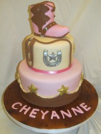 17 Best images about Cowboy/Cowgirl Cakes on Pinterest ...
