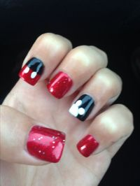 Disneyland nails! Love Mickey | Nails | Pinterest ...