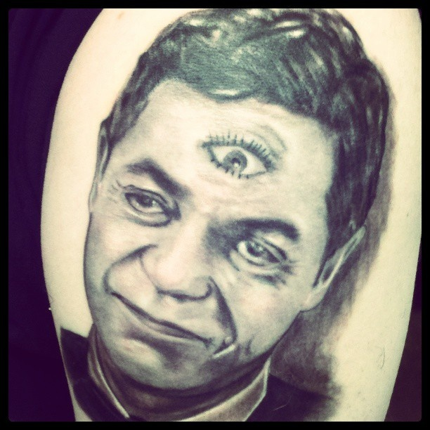 Twilight Zone Tattoo Flash