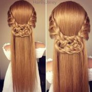 3 strand celtic knot hairstyles
