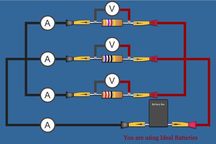 Simple Parallel Circuit Resistor Parallel Circuit