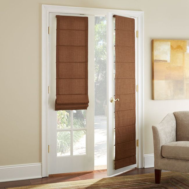 1000+ ideas about French Door Coverings on Pinterest