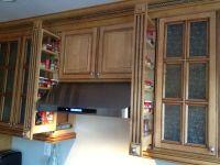 3 inch pullout kitchen spice rack cabinet | Upper Kitchen ...