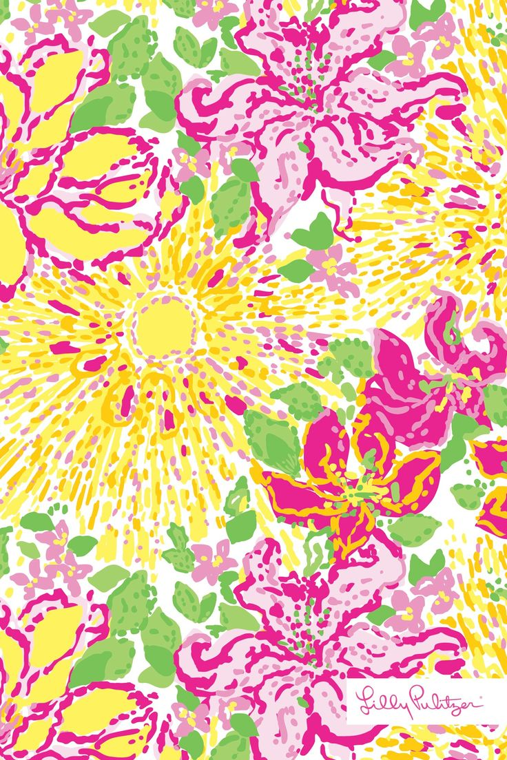 Cute Pineapple Iphone Wallpaper Lilly Pulitzer A Story Written In The Sun Wallpaper