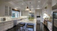 coffered ceiling in kitchen | ... coffered ceiling ...