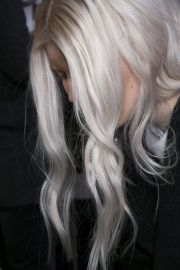 platinum gray ombr #hair hair