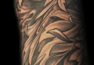 Black And Gray Tattoo Designs