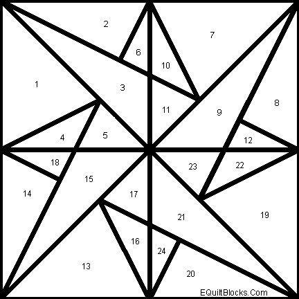 25+ best ideas about Star Patterns on Pinterest