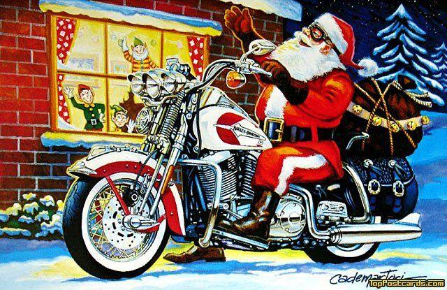 Harley Santa Christmas 2014Top Gifts For Your Biker