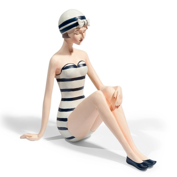 Statuette nageuse Marinella  Mothers day  Pinterest
