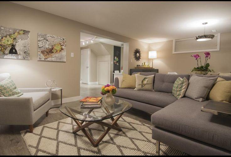 Cream Amp Grey Living Room Photos HGTV Canada On