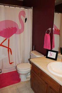 Flamingo Themed Kids Bathroom, girls bathroom, flamingo ...