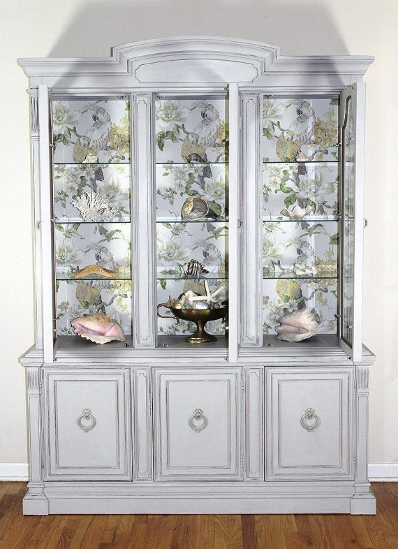 44 best images about China cabinet on Pinterest  Painted