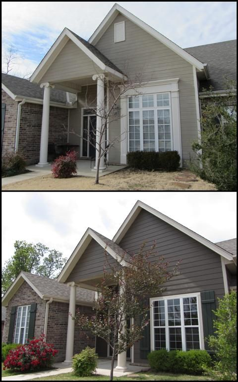 Bottom Photo Sherwin Williams Homestead Brown Paint