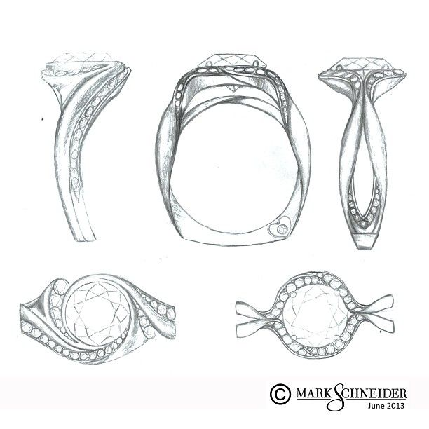 More #new #ring #sketches! Which one would YOU want placed