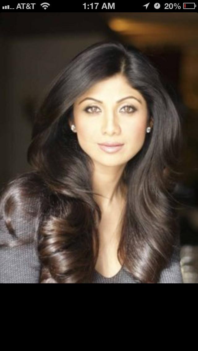 Soft curls loose layers Shilpa Shetty  Beautiful Long