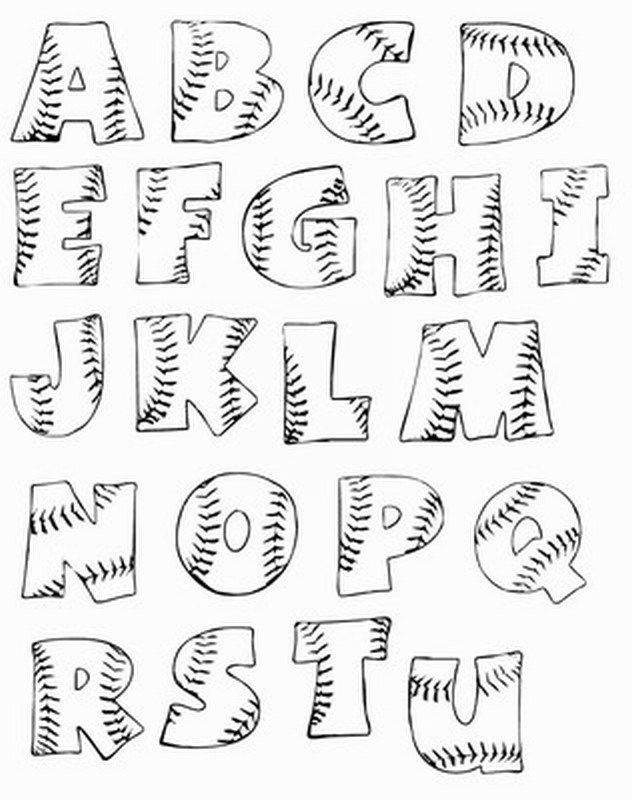 Bubble Letters Printable Auto Electrical Wiring Diagram