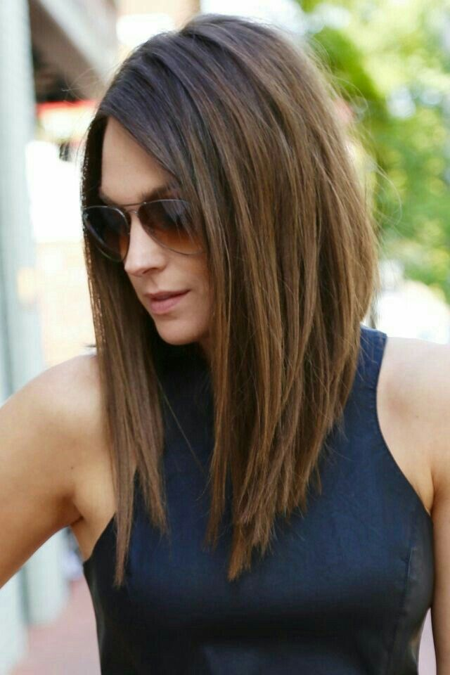 25 Best Ideas About Long Angled Bobs On Pinterest Long Angled