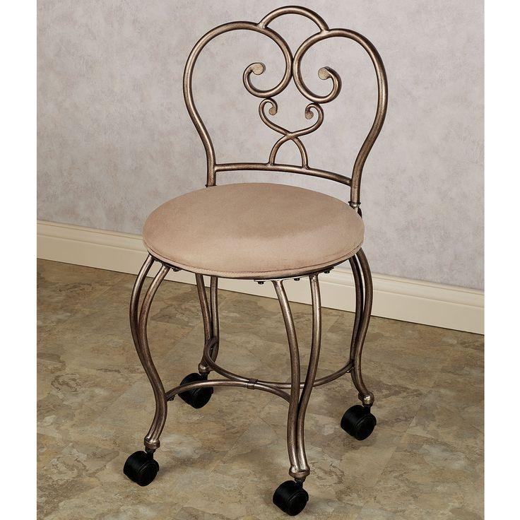 Lecia Vanity Chair  Vanity chairs Chairs and Vanities