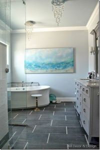 17 Best images about My ocean-inspired master bathroom ...