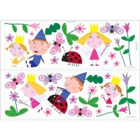 ben-and-holly-s-little-kingdom-self-adhesive-wall-stickers ...