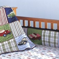 Pottery Barn Cars and Trucks Crib Bedding Set~Boy~NEW ...