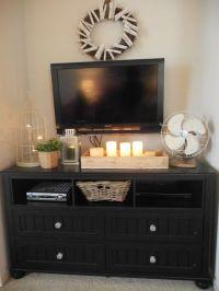 Best 25+ Bedroom tv stand ideas on Pinterest | Tv wall ...