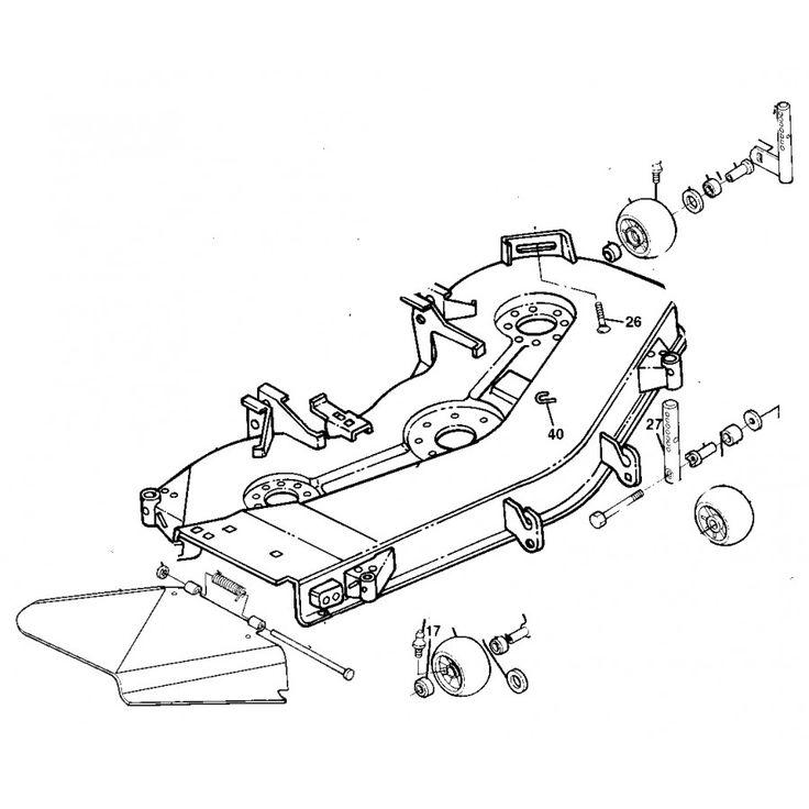 42 best John Deere Replacement Mower Decks images on Pinterest