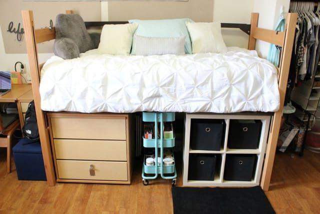 A Dozen Tips For A Super Organized Dorm Room On Command
