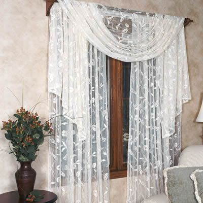 1000 Images About Window Treatments On Pinterest Dining Rooms Window Panels And Chiffon
