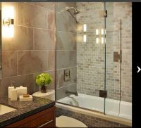 Drop in tub in an alcove | Bathroom Ideas and Materials ...