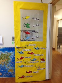 Dr. Seuss door decoration | Education | Pinterest | Dr ...