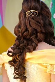ideas belle hairstyle