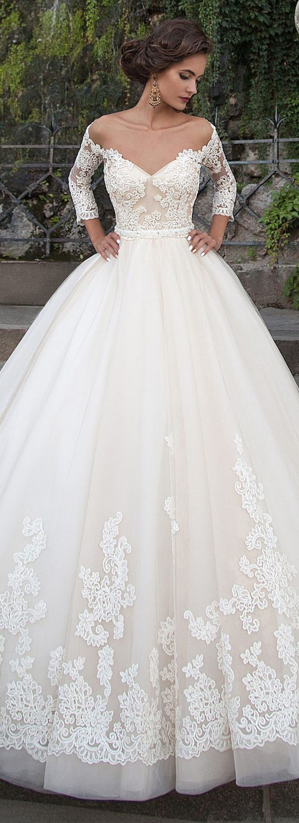 25 best ideas about Mexican wedding dresses on Pinterest  La sposa wedding gowns Illusion