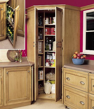 corner kitchen pantry cabinet 80 best images about Corner Storage Ideas on Pinterest