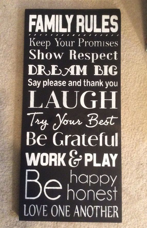 25 Best Ideas About House Rules Sign On Pinterest Pallet