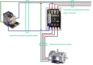 Three Phase Contactor Wiring Diagram Electrical Info PICS