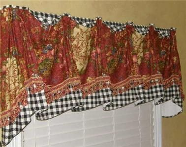 red valances for kitchen windows aid beater 10 best ideas about waverly curtains on pinterest ...