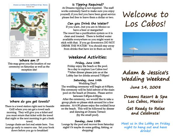 Some Examples Of Travel Brochure Sample Brochures