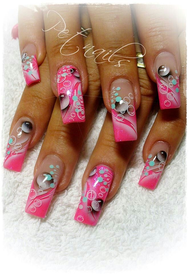 17 Best ideas about Airbrush Nails on Pinterest
