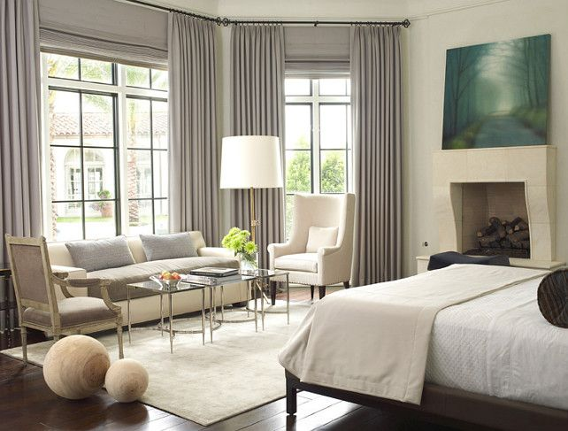 17 Best ideas about Bedroom Seating Areas on Pinterest