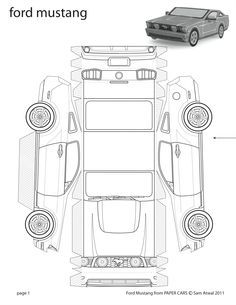 75 best images about papercraft model cars on Pinterest