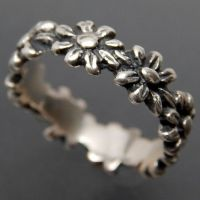 JAMES AVERY STERLING SILVER MARGARITA DAISY FLOWER