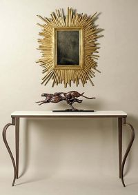 Fantastic legs! Designer console table by Adam Williams