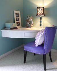 corner built-in desk for small rooms | inside | Pinterest ...