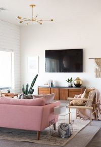 Best 25+ Pink sofa ideas on Pinterest | Blush grey copper ...