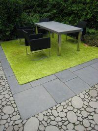Oval concrete pavers & rectangular stone pavers | My ...