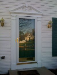 Exterior Door Trim Pediment Material? - Carpentry - DIY ...