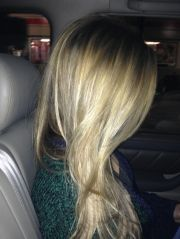 dirty blonde hair with natural